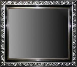 Rama Ażurowa płatki srebro / szlagmetal, szerokość profilu 18cm