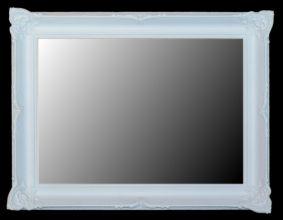 Rama stylowa do lustra lub obrazu / biały mat / szerokość profilu 9,5cm