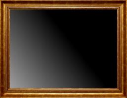 Lustro w złotej ramie, wykonanie na wymiar nr:76264