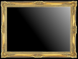 Rama dekoracyjna złocona do lustra lub obrazu