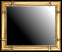 Rama drewniana złocona, idealna do lustra