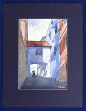Rafał Rudko  akwarela 21 x 30cm