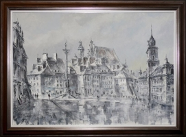 Adam Nowakowski obraz olejny