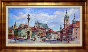 Waldemar Żaczek - Plac Zamkowy w Warszawie