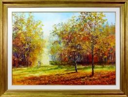 Adam Nowakowski -- Jesienny spacer