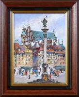 Waldemar Żaczek  'Plac Zamkowy w Warszawie'