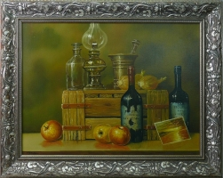 Zbigniew Bereszka - 'Martwa natura' obraz olejny 60 x 80cm
