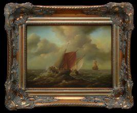 Malarstwo Holenderskie Piotr Goss obraz olejny 30 x 40cm/sprzedany