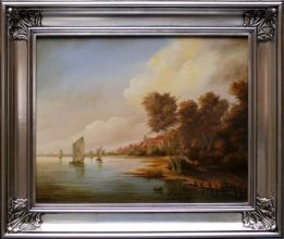 Malarstwo Holenderskie Piotra Gossa obraz olejny 40 x 50cm