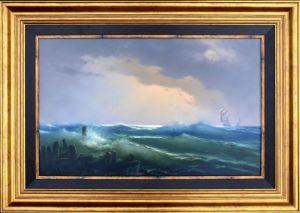 Marek Rużyk - SROGIE MORZE- 50 x80cm