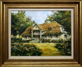 Krzysztof Wysmyk Dworek Szlachecki obraz olejny 61 x 46cm / sprzedany