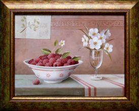 Adam Korsak -Martwa natura / obraz olejny 30 x 40cm /sprzedany