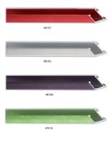 Profil ramy aluminiowej w wykończeniu matowym