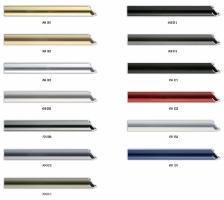 Wysoki profil ramy aluminiowej, przeznaczony do oprawy większych formatów prac