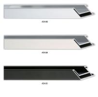 Wysoki profil aluminiowej ramy, możliwość zastosowania ramy do oprawy prac na blejtramie