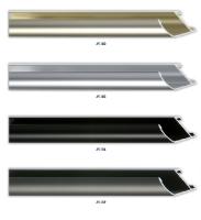 Wysoki , aluminiowy profil ramy, idealny także do oprawy obrazów na blejtramie.