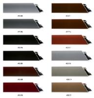 Aluminiowy profil o lekko spadzistym kształcie, nadaje się do oprawy dużych formatów prac.