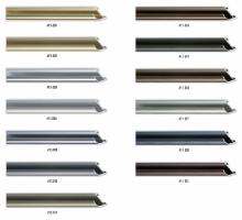 Wysoki , zaokrąglony profil ramy, idealny także do oprawy większych formatów prac.