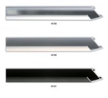 Wysoki profil aluminiowej ramy, idealny do oprawy obrazów na blejtramie