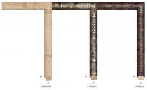 Ramy drewniane, idealne do oprawy egzotycznych pamiątek