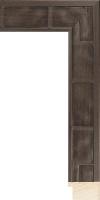 Rama drewniana, antyczny brąz