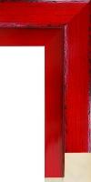 Rama do oprawy obrazów olejnych, drewniana, lakierowana