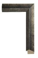 Rama drewniana, stare srebro idealna do oprawy starych fotografii