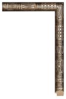 Rama srebrna drewniana idealna do oprawy papirusów