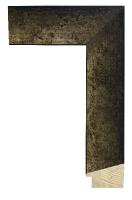 Rama drewniana, wykończenie stare srebro