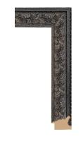 Rama drewniana z dekoracyjnym motywem roślinnym