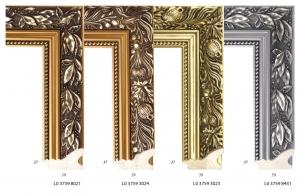 Ramy bogato zdobione drewniane do oprawy obrazów i luster