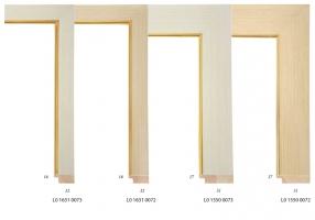 Drewniane wkładki passe-partout do oprawy obrazów olejnych