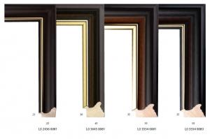 Ramy drewniane, klasyczne profile