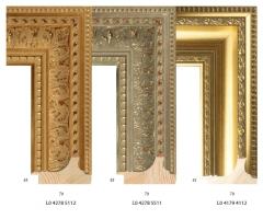 Ramy drewniane zdobione, do oprawy obrazów i luster