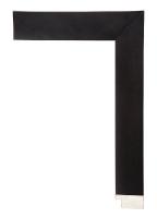 Rama drewniana, nowoczesna-czarna kostka