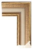 Rama drewniana klasyczna, złocona