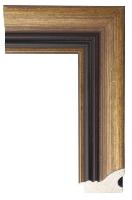 Klasyczna złota rama drewniana do obrazu