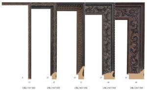 Klasyczne ozdobne ramy drewniane, do oprawy obrazów