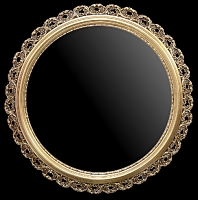 Rama ażurowa okrągła do lustra lub obrazu