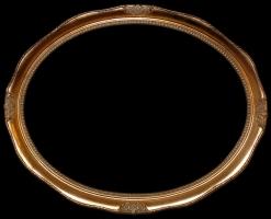 Rama owalna stylowa do oprawy lustra i obrazu art-ov556z