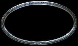 Rama ozdobna owalna do oprawy lustra i obrazu art-ov654