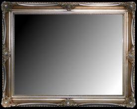 Rama stylowa kryta płatki srebra / szlagmetal / szerokość profilu 9cm //Nr.22s