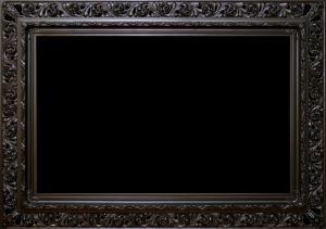 Rama lakierowana Ażurowa szerokość profilu 18cm