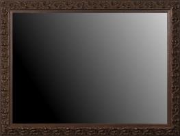 Rama drewniana,wykończenie ręczne w kolorze miedziano-brązowym