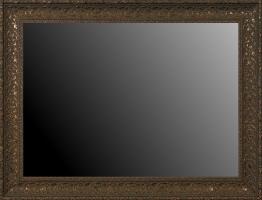 Rama idealna do oprawy obrazu, drewniana ozdobna, stare złoto