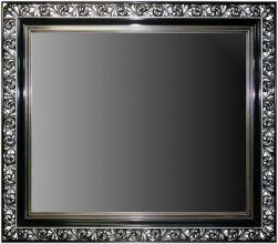 Rama Ażurowa płatki srebro / szlagmetal, szerokość profilu 18cm//Nr.11