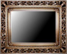 Rama ażurowa do lustra / pokrycie srebro szlagmetal / szerokość profilu 18cm //Nr.18