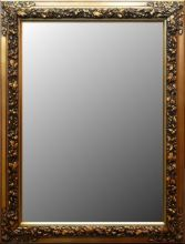 Rama stylowa do lustra, pokrycie płatki złota szlagmetal / szerokość profilu 9cm  //Nr.23