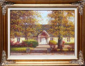 Rama stylowa do lustra lub obrazu, pokrycie płatki złota / patyna. Szer. profilu ramy 10cm //Nr.03
